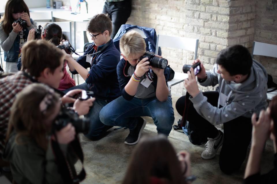 Taller de fotografía infantil y juvenil